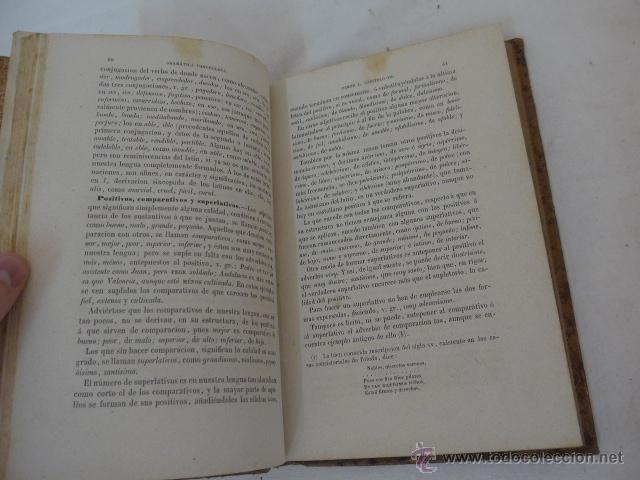 Libros antiguos: Antiguo libro gramatica de la lengua castellana, 1874 - Foto 3 - 53258769