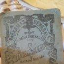 Libros antiguos: PROGRAMAS GENERALES, PRIMERA ENSEÑANZA, URBANIDAD, 1915, D. PABLO SOLANO. Lote 53567131