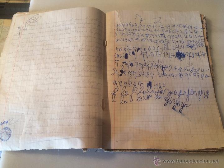 Libros antiguos: Antiguo cuaderno escolar de Juan Jorquera datado en Vilanova y la Geltru año 1935 - Foto 4 - 53894289