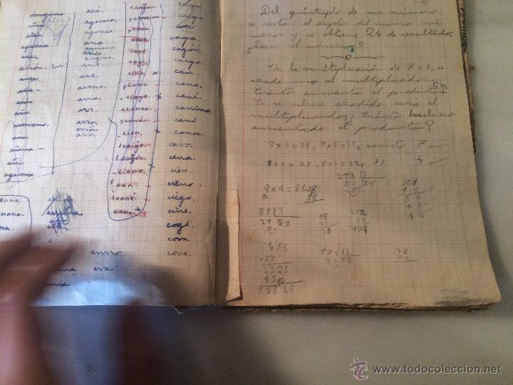 Libros antiguos: Antiguo cuaderno escolar de Juan Jorquera datado en Vilanova y la Geltru año 1935 - Foto 5 - 53894289