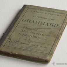 Libros antiguos: LE PREMIÈRE ANNEE DEGRAMMAIRE - ARMAND COLIN ET CIO. 1887. Lote 53911120