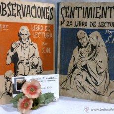 Libros antiguos: DÉCADA DE 1940. MANUALES DE 1ª ENSEÑANZA POR S.M. EDITORIAL HIJOS DE SANTIAGO RODRIGUEZ, BURGOS. Lote 54016326