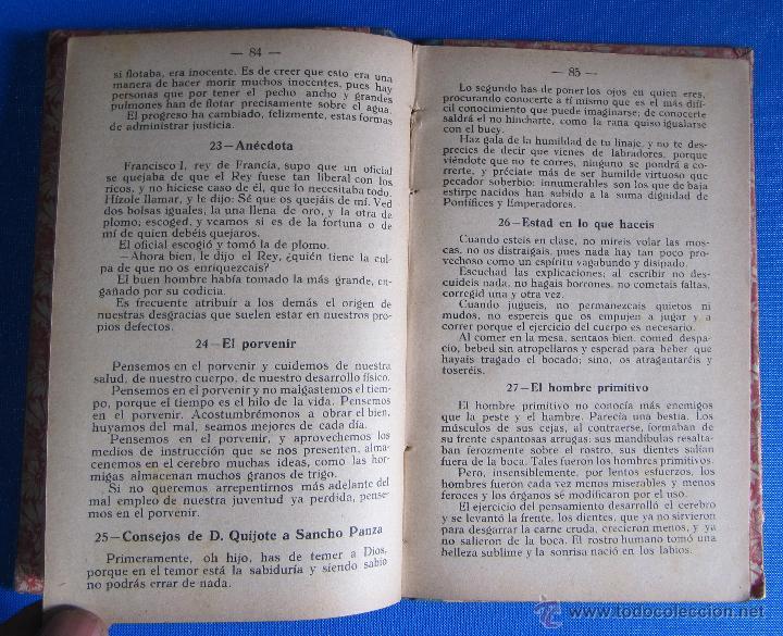 Libros antiguos: FRAGMENTOS PARA DICTADO Y LECTURA EXPLICADA. CURSO PORCEL. TIPOGRAFÍA PORCEL, PALMA DE MALLORCA 1926 - Foto 5 - 54100324