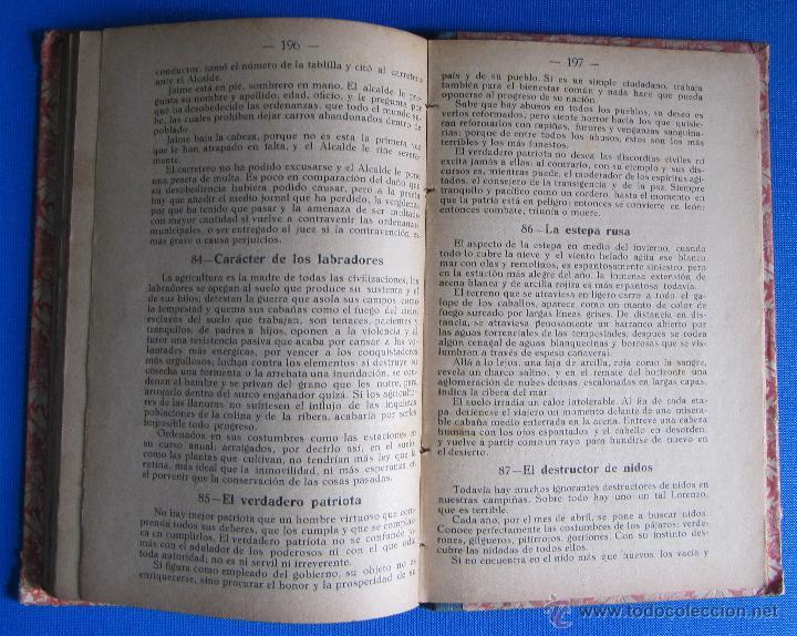 Libros antiguos: FRAGMENTOS PARA DICTADO Y LECTURA EXPLICADA. CURSO PORCEL. TIPOGRAFÍA PORCEL, PALMA DE MALLORCA 1926 - Foto 6 - 54100324