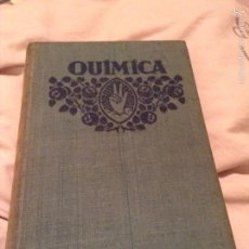 Libros antiguos: ELEMENTOS DE QUÍMICA. FTD. 1929. Lote 54336261