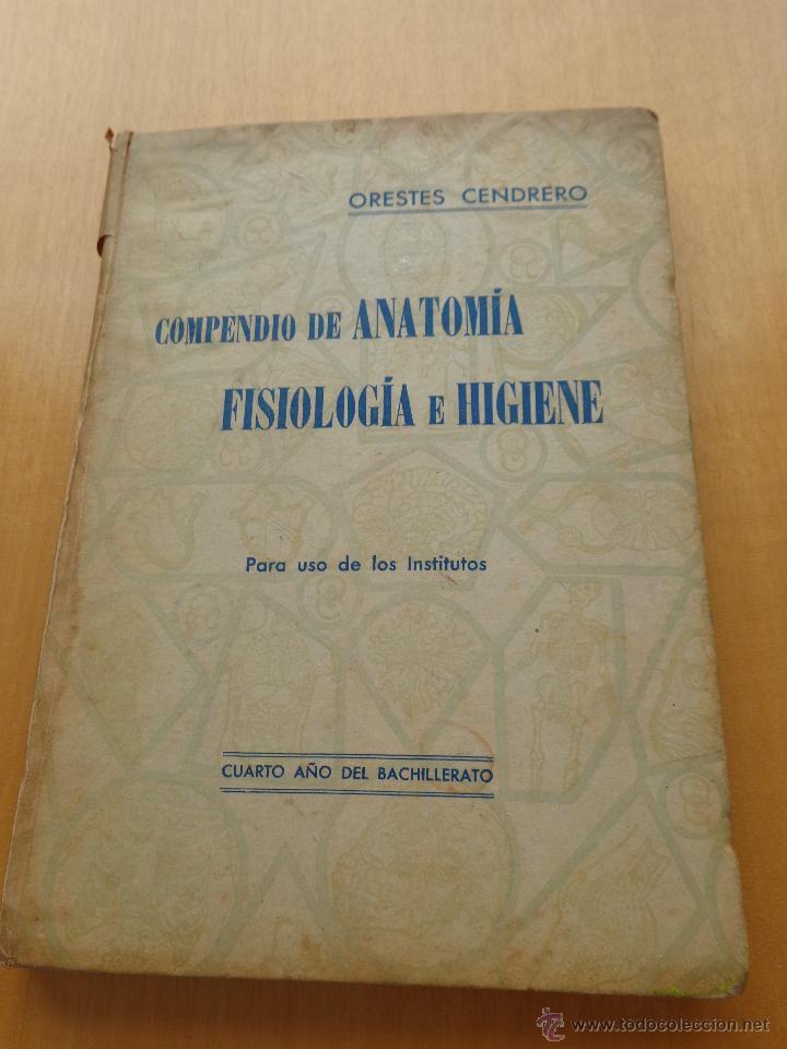 compendio de anatomia - orestes cendrero -4º a - Comprar Libros ...