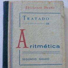 Libros antiguos: ARITMÉTICA SEGUNDO GRADO EDICIONES BRUÑO CURSO MEDIO . Lote 54576621
