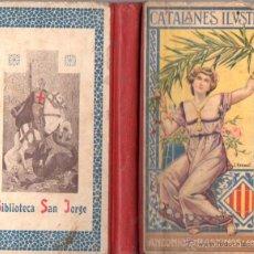 Libros antiguos: CATALANES ILUSTRES (BASTINOS, 1905). Lote 54654816
