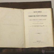 Libros antiguos: 7237 - TRATADO COMPLETO DEL TEJIDO MECANICO Y DE MANO. F. ARAN. IMP. HISPANA DE V. C. 1856.. Lote 54627909