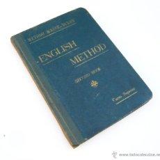 Libros antiguos: METODO PRACTICO DE INGLES / MASSÉ-DIXON / ESCUELA MASSE 1923 / LIBRO ESCOLAR. Lote 54973897