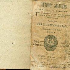 Libros antiguos: ESCUELAS PIAS. LIBRO DE TEXTO. EDITADO EN BARCELONA EN 1844.. Lote 54987210