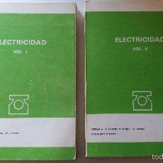 Libros antiguos: TELEFONICA ELECTRICIDAD. Lote 56403523
