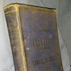 Libros antiguos: GRAMÁTICA RAZONADA HISTÓRICO-CRÍTICA DE LA LENGUA FRANCESA - 1902 - TOMO I - TAPA DURA - MUY RARO. Lote 56641656