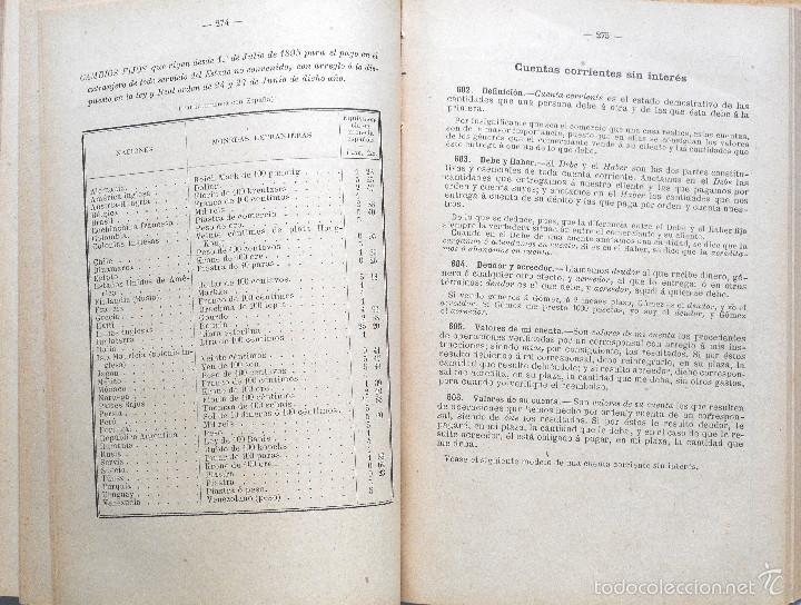 Libros antiguos: ARITMÉTICA RAZONADA Y NOCIONES DE ÁLGEBRA - LIBRO ALUMNO GRADO PROFESIONAL - JOSÉ DALMAU - AÑO 1905 - Foto 5 - 56658478