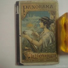 Libros antiguos: PANORAMA. LA NATURALEZA. ANTONIO BASTINOS. MANUSCRITO. 1898. MUY ILUSTRADO. Lote 56969772