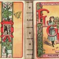 Libros antiguos: P. PILAR DE SANJUAN : FLORA (PALUZIE, 1923). Lote 57037199