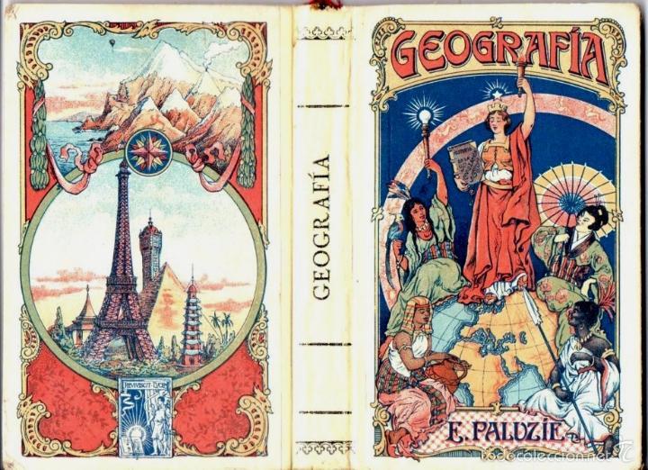 GEOGRAFÍA PARA NIÑOS (PALUZIE, 1925) (Libros Antiguos, Raros y Curiosos - Libros de Texto y Escuela)