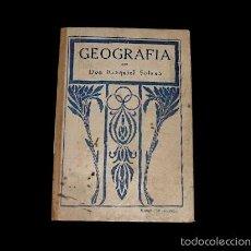 Libros antiguos: LIBRO DE ESCUELA: GEOGRAFÍA POR D. EZEQUIEL SOLANA, MADRID, 1929.. Lote 26968330