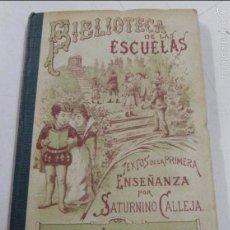 Libros antiguos: LIBRO BIBLIOTECA DE LAS ESCUELAS. TEXTOS POR SATURNINO CALLEJA. RELIGION Y MORAL TOMO II. ED. SATURN. Lote 57102960