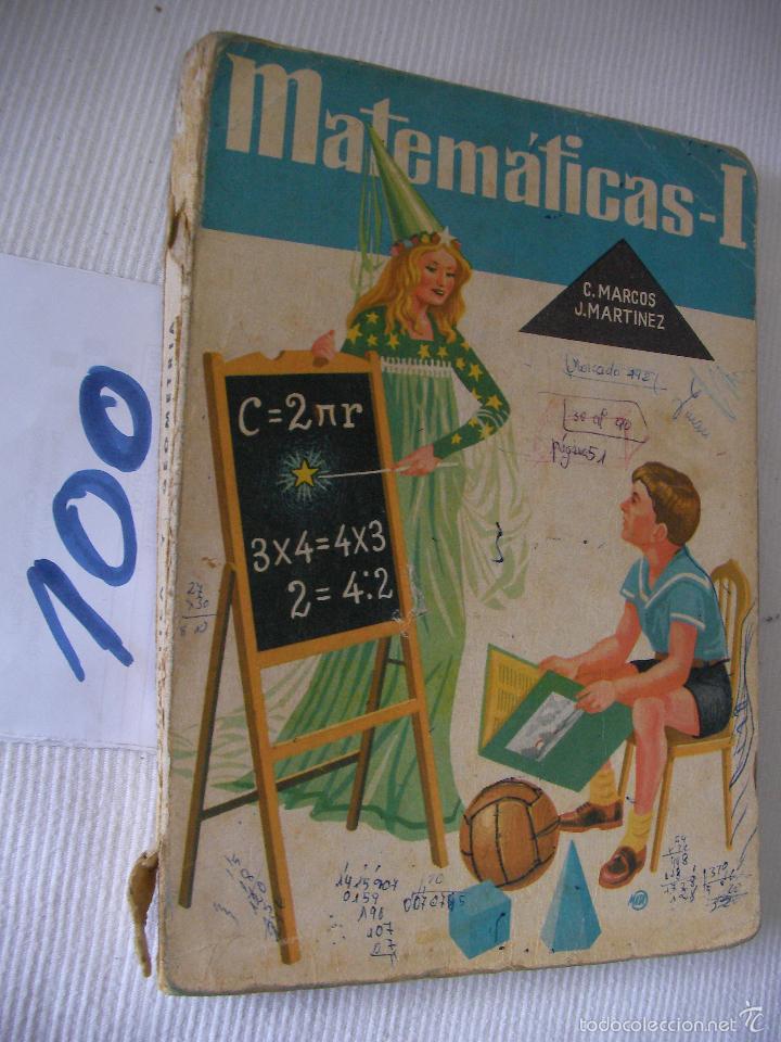 antiguo libro de texto - matematicas 1º - marco - Comprar Libros ...