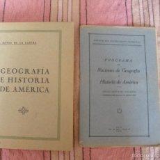 Libros antiguos: GEOGRAFIA E HISTORIA DE AMERICA - EDITORIAL REUS - 1928. Lote 57146942
