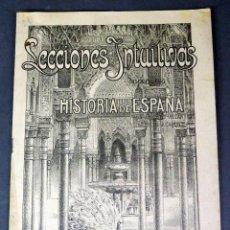 Libros antiguos: LECCIONES INTUITIVAS HISTORIA ESPAÑA Nº 2 ANICETO VILLAR MIGUEL SALVATELLA EDITOR AÑOS 30 . Lote 57252084