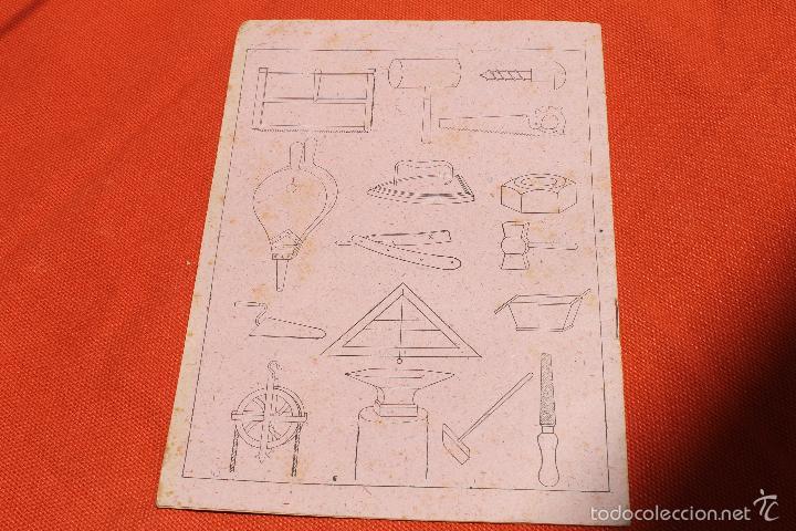 Libros antiguos: CUADERNO ESCRITURA INGLES GRAFICO, MARCA X, MODERNISTA PORTADA A. SOLER - Foto 4 - 57292157