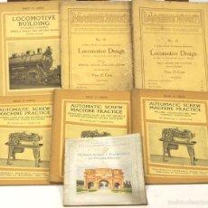 Libros antiguos: 7616 - LOTE 7 EJEMPLARES MACHINERY. (VER DESCRIPCIÓN). VV. AA. 1910-1913.. Lote 57339849