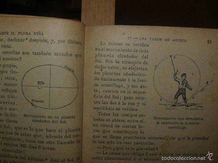 Libros antiguos: FLORA O LA EDUCACION DE UNA NIÑA - ED.PALUZIE - AÑO 1907 - Foto 7 - 174223404