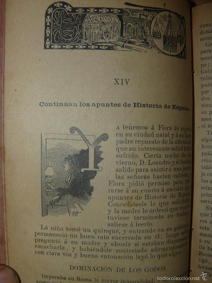 Libros antiguos: FLORA O LA EDUCACION DE UNA NIÑA - ED.PALUZIE - AÑO 1907 - Foto 2 - 174223404