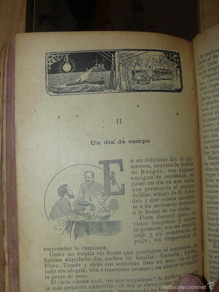 Libros antiguos: FLORA O LA EDUCACION DE UNA NIÑA - ED.PALUZIE - AÑO 1907 - Foto 4 - 174223404