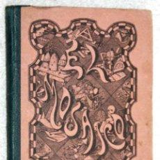 Libros antiguos: EL MOSAICO 1885. ANONIO BASTINOS Y PUIG. BARCELONA. EXCELENTE CONSERVACIÓN. Lote 57519034