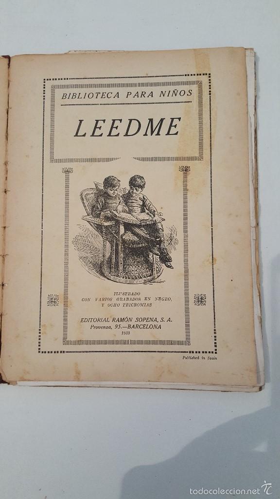 Libros antiguos: LEEDME (BIBLIOTECA PARA NIÑOS 1933) - Foto 2 - 57542659
