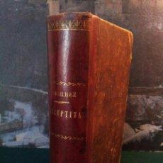 Libros antiguos: LITERATURA PRECEPTIVA. NOCIONES DE ESTÉTICA. M. GUTIÉRREZ. GRANADA 1908. RARO. Lote 57666795