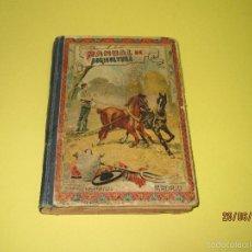 Livros antigos: ANTIGUO LIBRO *MANUAL DE AGRICULTURA* EDIT. SUCESORES DE HERNANDO DEL AÑO 1909. Lote 57771537