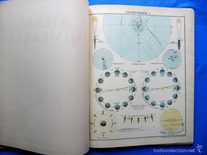 Libros antiguos: ATLAS UNIVERSAL. SEGUNDO GRADO. INSTITUTO GEOGRÁFICO HISPANO AMERICANO, SIN FECHA. - Foto 4 - 57885802