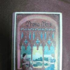 Libros antiguos: PROSA I VERS. MANEL MARINEL-LO. LECTURES MORALS I CIVIQUES. DIBUIXOS LLOBET. IMP. ELZEVIRIANA 1931.. Lote 58004825