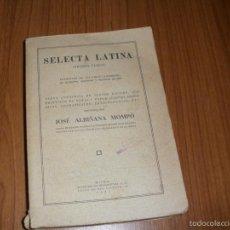 Libros antiguos: LATIN - EXTRACTOS DE (DE VIRIS) - SELECTA LATINA - 1935. Lote 58380585