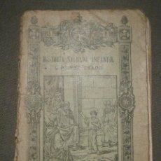 Libros antiguos: LIBRO DE ESCUELA - HISTORIA SAGRADA INFANTIL -1929 - 64 PÁGINAS - ABUNDANTES ILUSTRACIONES - BRUÑO. Lote 58432457