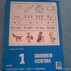 Libros antiguos: CUADERNO DE ESCRITURA . Lote 58572987