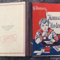 Libros antiguos: MANUSCRITO MODERNO, EDITORIAL ESTUDIO. Lote 58690095