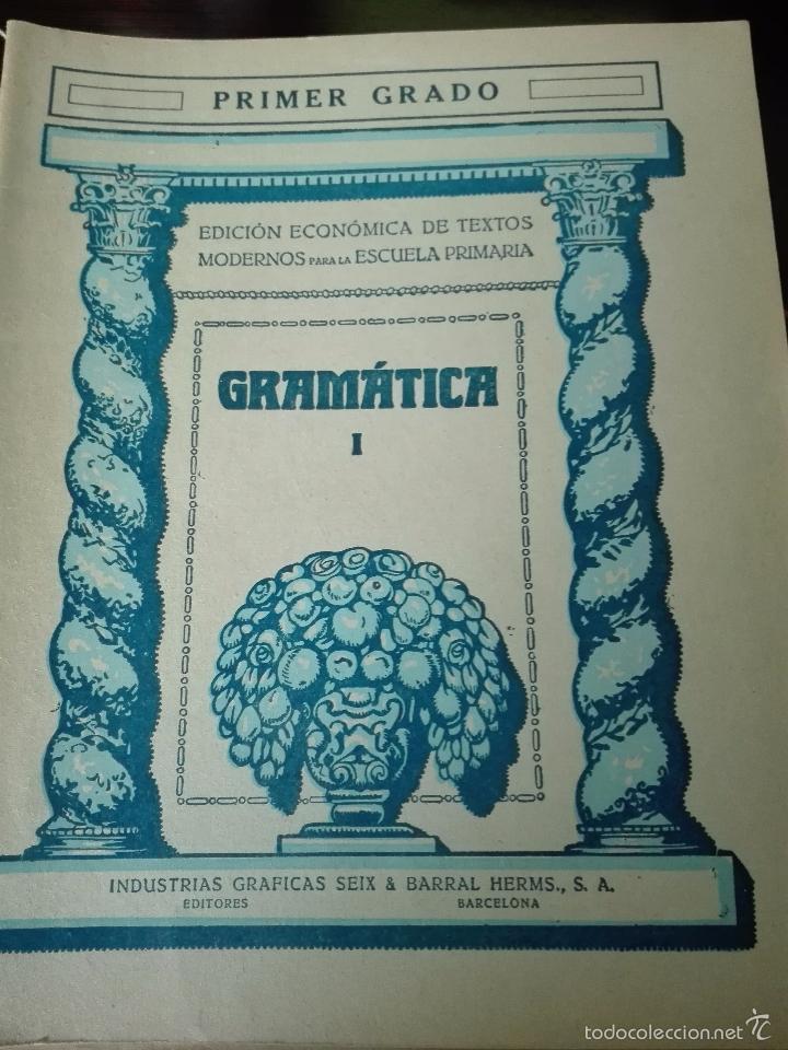 Libros antiguos: GRAN LOTE DE 24 CUADERNILLOS DE ESCUELA DE PRIMARIA - SEIX & BARRAL - BARCELONA - 1933 - - Foto 3 - 60262851