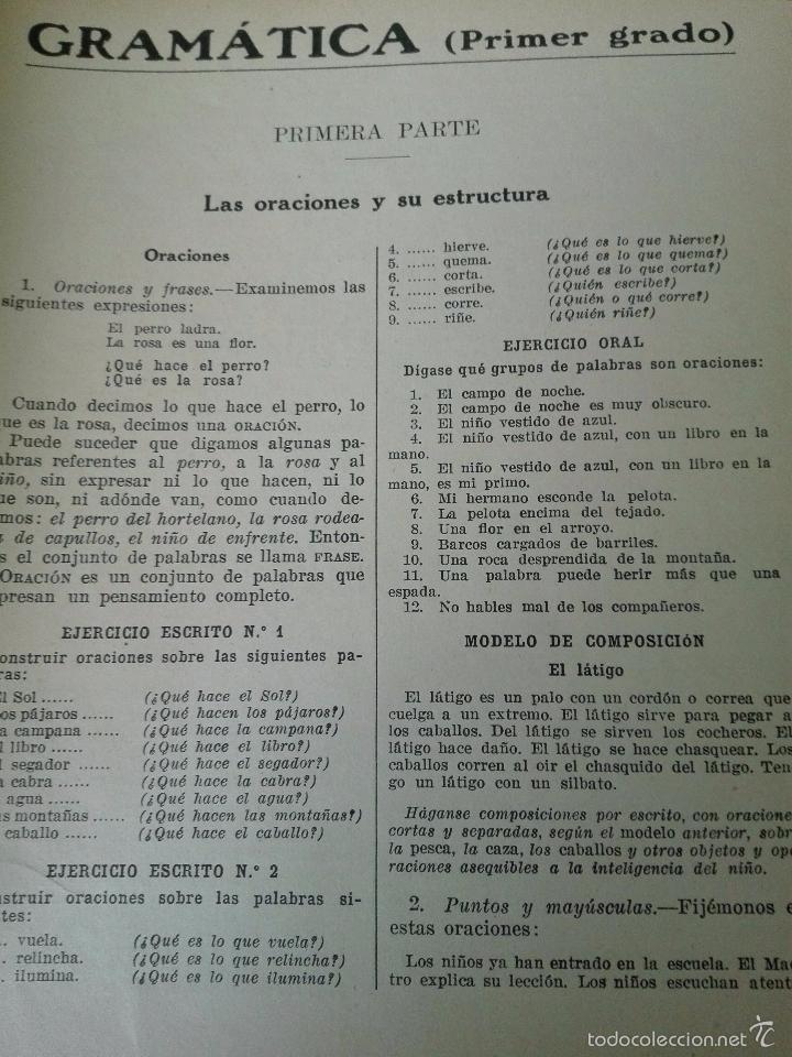 Libros antiguos: GRAN LOTE DE 24 CUADERNILLOS DE ESCUELA DE PRIMARIA - SEIX & BARRAL - BARCELONA - 1933 - - Foto 4 - 60262851