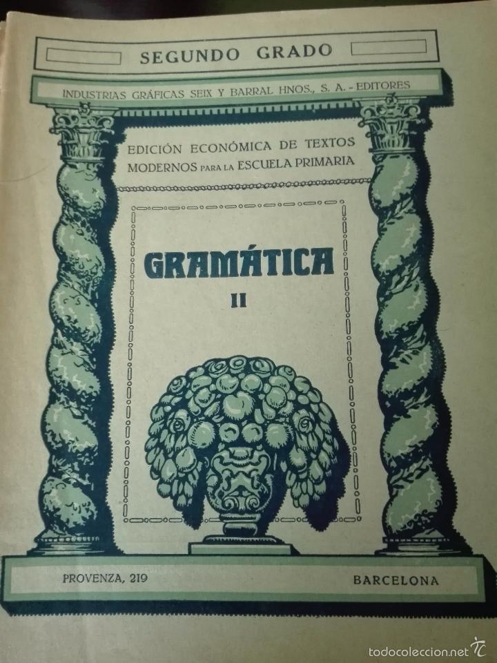 Libros antiguos: GRAN LOTE DE 24 CUADERNILLOS DE ESCUELA DE PRIMARIA - SEIX & BARRAL - BARCELONA - 1933 - - Foto 6 - 60262851