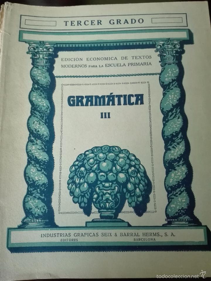 Libros antiguos: GRAN LOTE DE 24 CUADERNILLOS DE ESCUELA DE PRIMARIA - SEIX & BARRAL - BARCELONA - 1933 - - Foto 7 - 60262851