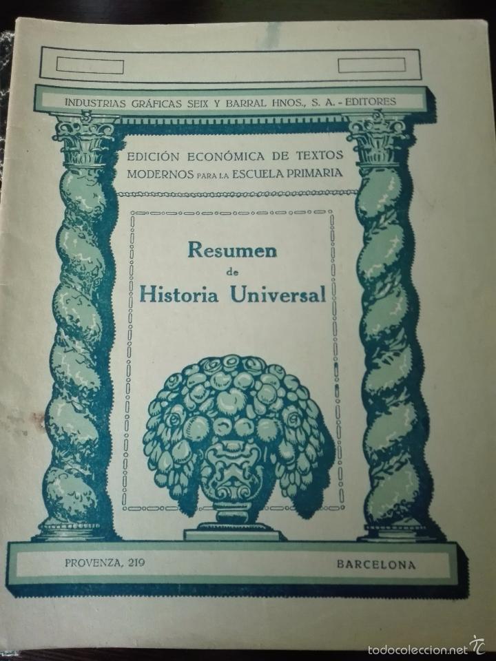 Libros antiguos: GRAN LOTE DE 24 CUADERNILLOS DE ESCUELA DE PRIMARIA - SEIX & BARRAL - BARCELONA - 1933 - - Foto 13 - 60262851