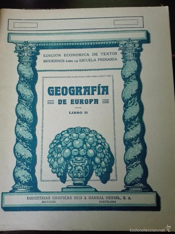 Libros antiguos: GRAN LOTE DE 24 CUADERNILLOS DE ESCUELA DE PRIMARIA - SEIX & BARRAL - BARCELONA - 1933 - - Foto 18 - 60262851