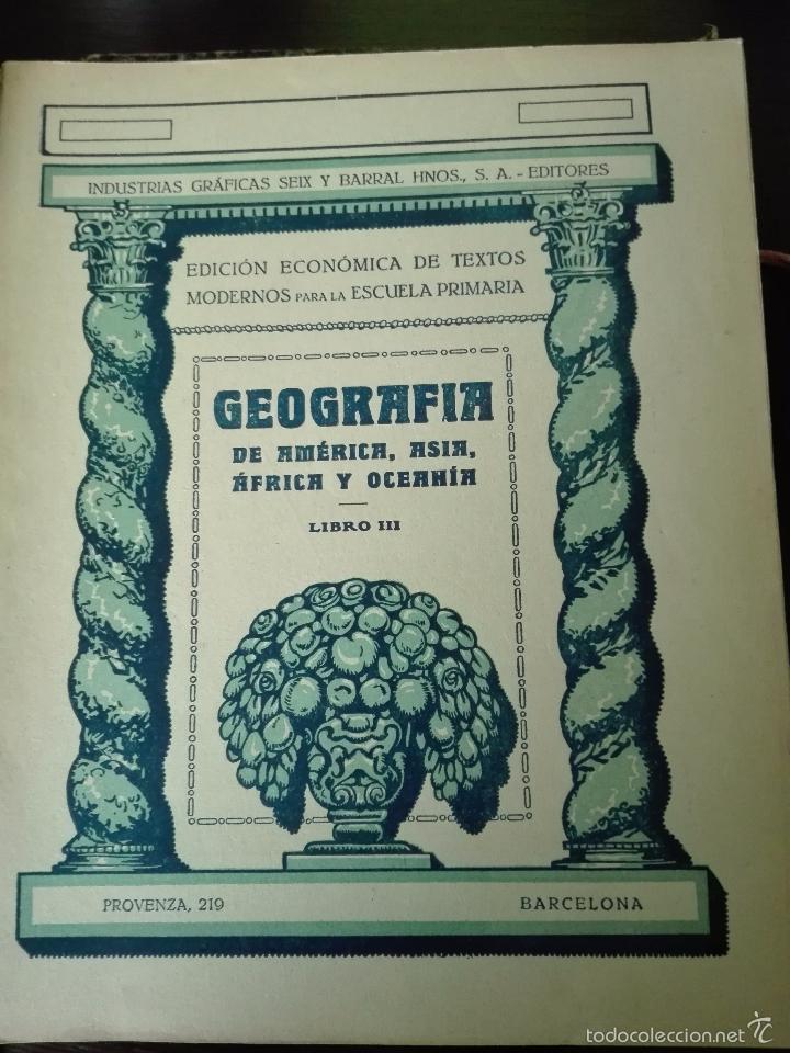 Libros antiguos: GRAN LOTE DE 24 CUADERNILLOS DE ESCUELA DE PRIMARIA - SEIX & BARRAL - BARCELONA - 1933 - - Foto 19 - 60262851