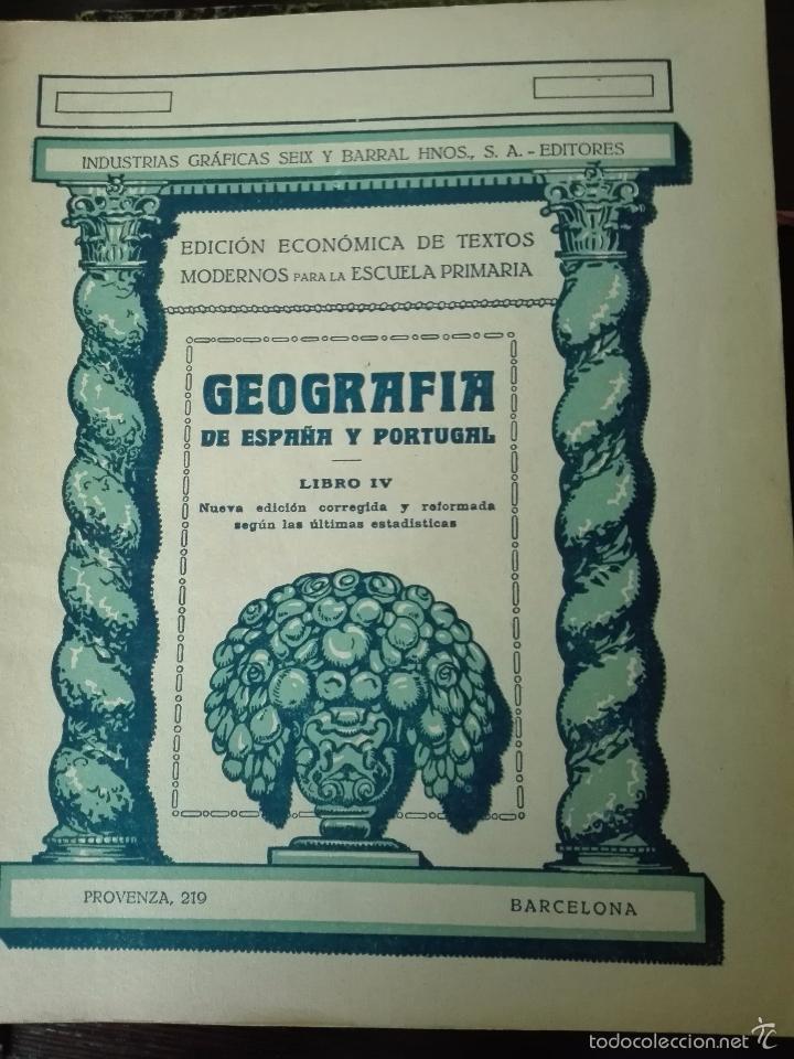 Libros antiguos: GRAN LOTE DE 24 CUADERNILLOS DE ESCUELA DE PRIMARIA - SEIX & BARRAL - BARCELONA - 1933 - - Foto 20 - 60262851