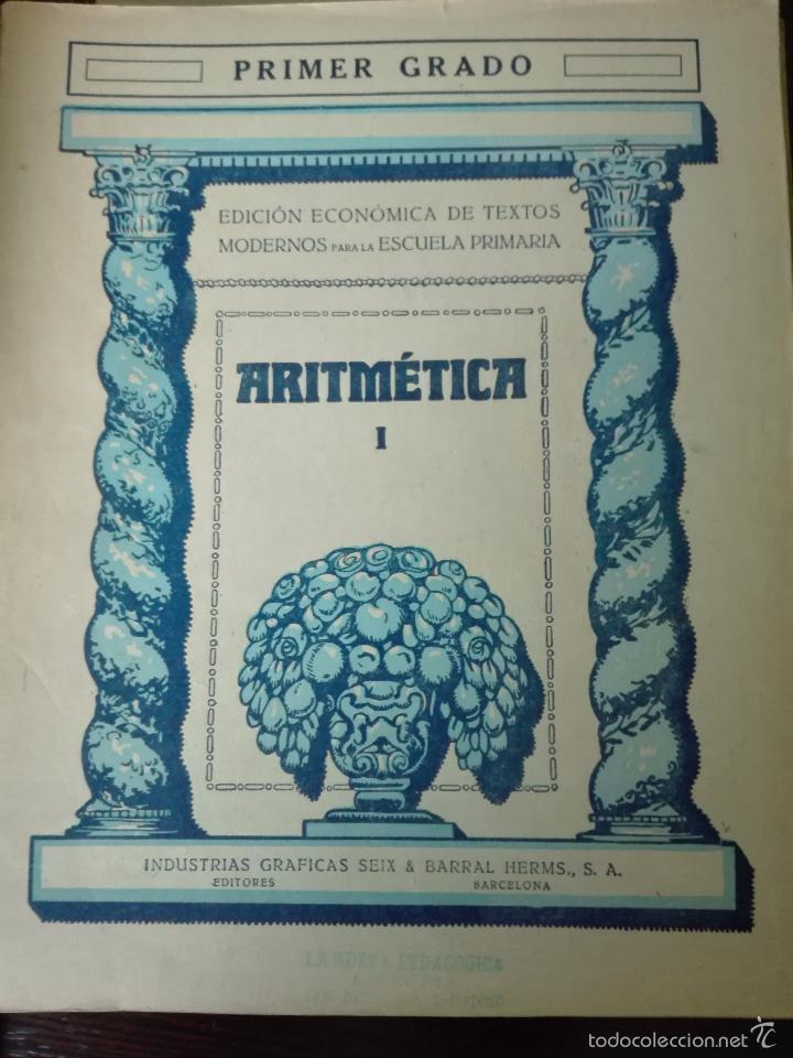 Libros antiguos: GRAN LOTE DE 24 CUADERNILLOS DE ESCUELA DE PRIMARIA - SEIX & BARRAL - BARCELONA - 1933 - - Foto 24 - 60262851